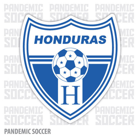 Seleccion Futbol Honduras Catracha Vinyl Sticker Decal