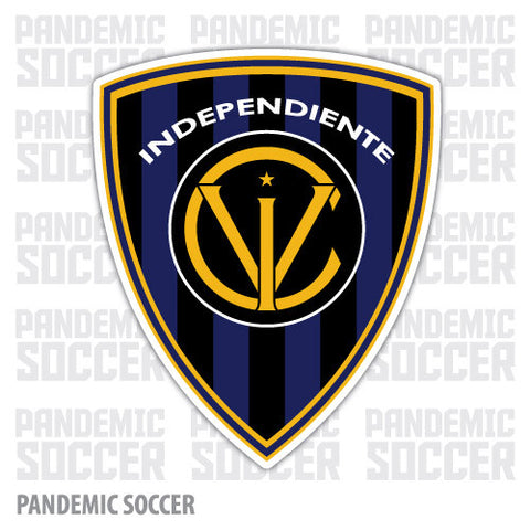 Independiente del Valle Ecuador Vinyl Sticker Decal Calcomania - Pandemic Soccer