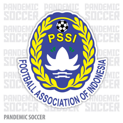 Indonesia National Soccer Team Vinyl Sticker Decal - Pandemic Soccer