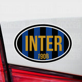Inter Milan Italy Oval Vinyl Sticker - Pandemic Soccer
