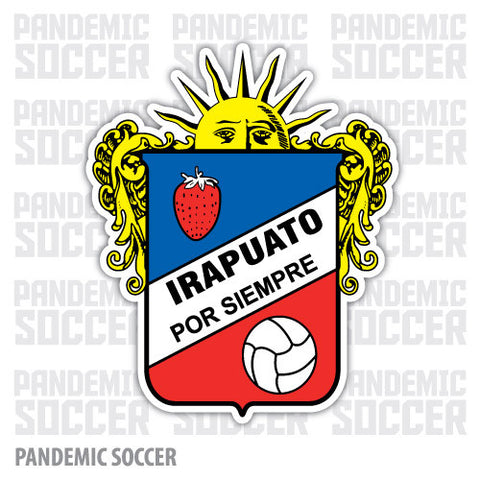 Freseros Irapuato Mexico Vinyl Sticker Decal Calcomania - Pandemic Soccer