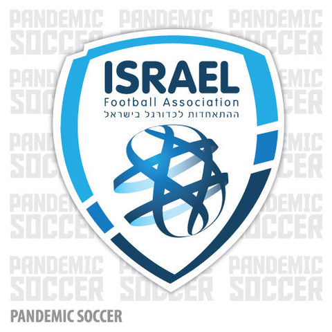 Israel National Soccer Team Vinyl Sticker Decal - Pandemic Soccer