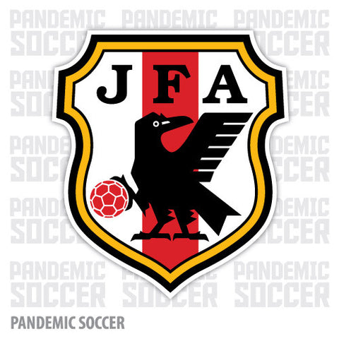 Japan national soccer team vinyl sticker decal