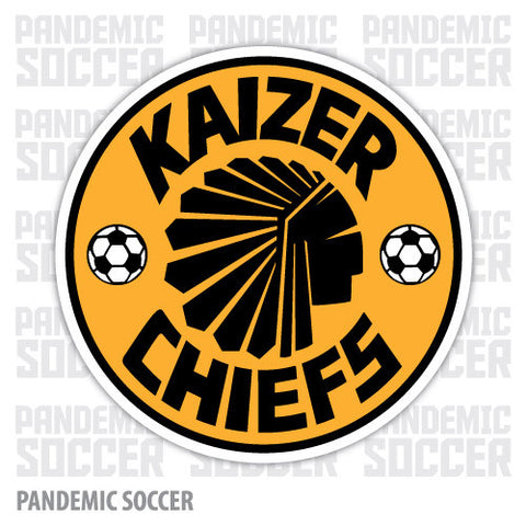 Kaizer Chiefs South Africa Vinyl Sticker Decal Soccer - Pandemic Soccer