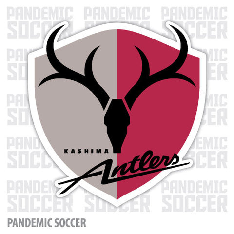 Kashima Antlers Japan Vinyl Sticker Decal - Pandemic Soccer
