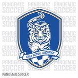 South Korea National Soccer Team Vinyl Sticker Decal - Pandemic Soccer