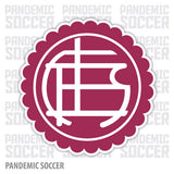 Lanus Argentina Vinyl Sticker Decal Calcomania - Pandemic Soccer