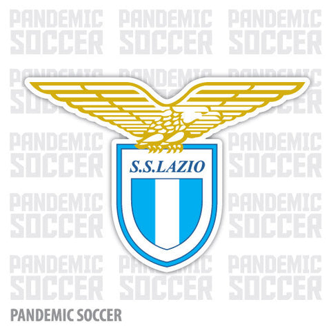 Lazio Roma Italy Color Vinyl Sticker Decal - Pandemic Soccer