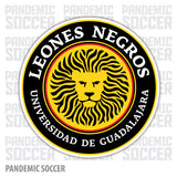 Leones Negros Mexico Vinyl Sticker Decal Calcomania - Pandemic Soccer