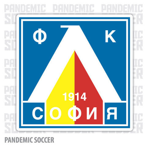 Levski Sofia Bulgaria Color Vinyl Sticker Decal - Pandemic Soccer