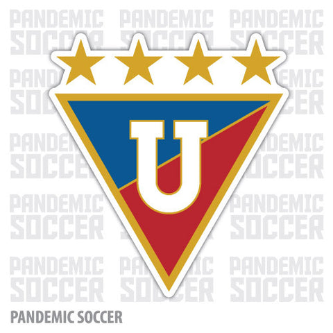 Liga de Quito Ecuador Vinyl Sticker Decal Calcomania - Pandemic Soccer