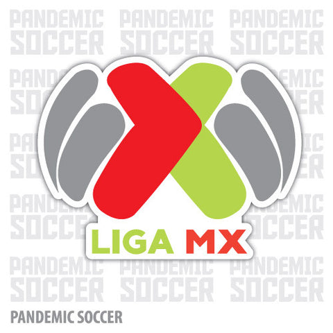 Liga MX Futbol Mexico Vinyl Sticker Decal Calcomania - Pandemic Soccer