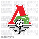 Lokomotiv Moscow Russia Vinyl Sticker Decal - Pandemic Soccer