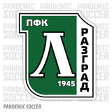 PFC Ludogorets Razgrad Bulgaria Vinyl Sticker Decal - Pandemic Soccer