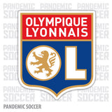 Olympique Lyon France Vinyl Sticker Decal - Pandemic Soccer