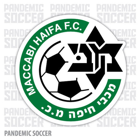 Maccabi Haifa Israel Vinyl Sticker Decal - Pandemic Soccer