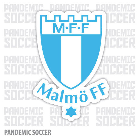 Malmo FF Sweden Vinyl Sticker Decal - Pandemic Soccer
