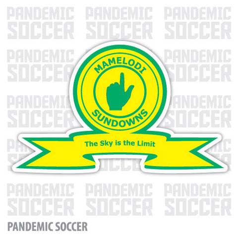 Mamelodi Sundowns FC South Africa Vinyl Sticker Decal - Pandemic Soccer