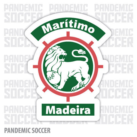 Maritimo Madeira Portugal Vinyl Sticker Decal - Pandemic Soccer