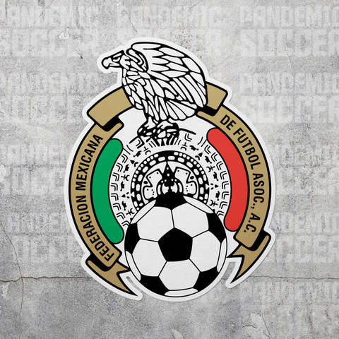 Seleccion Mexicana Futbol Vinyl Sticker Decal Calcomania - Pandemic Soccer