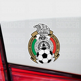 Seleccion Mexicana Futbol Vinyl Sticker Decal Pack - 10 Stickers - Pandemic Soccer