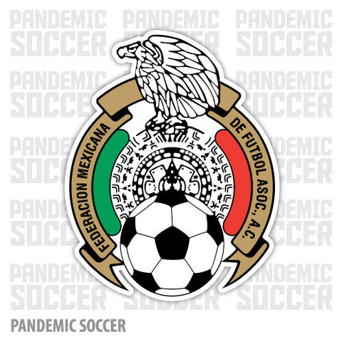 Seleccion Mexico Futbol Azteca Tri Vinyl Sticker Decal - Pandemic Soccer