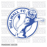 Millwall FC Bermondsey England Vinyl Sticker Decal - Pandemic Soccer