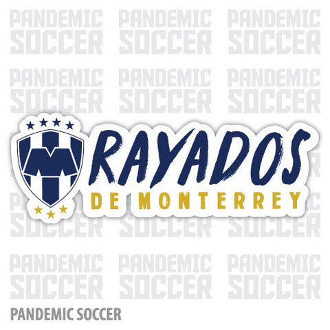 Rayados Monterrey Mexico Vinyl Sticker Decal Calcomania