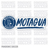 Motagua Honduras Vinyl Sticker Decal Calcomania - Pandemic Soccer