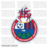 Deportivo Municipal Guatemala Vinyl Sticker Decal Calcomania - Pandemic Soccer