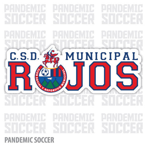 CD Municipal Guatemala Vinyl Sticker Decal Calcomania - Pandemic Soccer