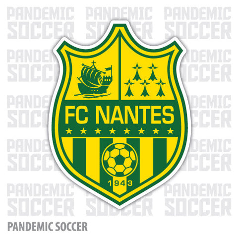 FC Nantes France Vinyl Sticker Decal - Pandemic Soccer