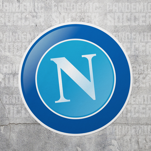 SSC Napoli Calcio Italy Vinyl Sticker Decal - Pandemic Soccer