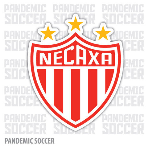 Rayos Necaxa Mexico Vinyl Sticker Decal Calcomania - Pandemic Soccer