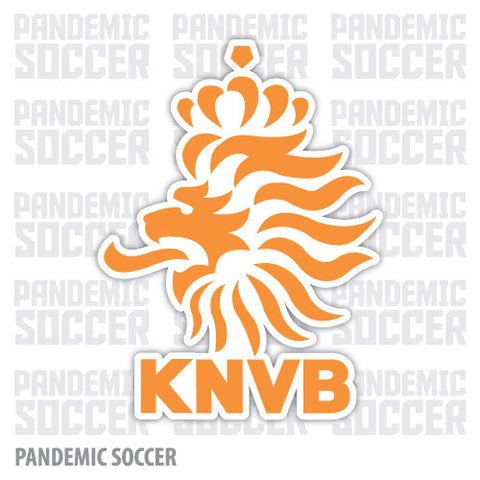 Netherlands National Soccer Team KNVB Vinyl Sticker Decal
