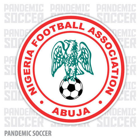Nigeria National Soccer Team Vinyl Sticker Decal - Pandemic Soccer