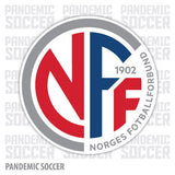 Norway National Soccer Team Vinyl Sticker Decal