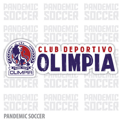 CD Olimpia Honduras Vinyl Sticker Decal Calcomania