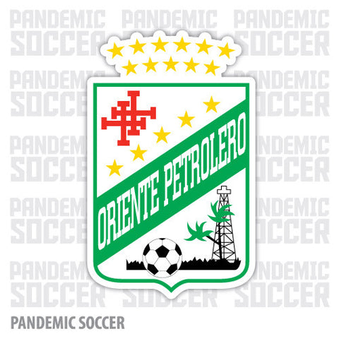 Oriente Petrolero Bolivia Vinyl Sticker Decal Calcomania - Pandemic Soccer