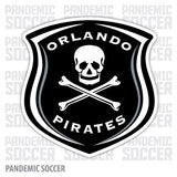 Orlando Pirates South Africa Vinyl Sticker Decal Soccer - Pandemic Soccer