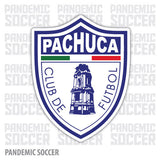 Pachuca Tuzos Futbol Mexico Vinyl Sticker Decal Calcomania - Pandemic Soccer