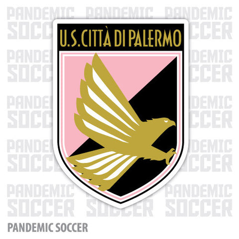 Palermo Calcio Italy Vinyl Sticker Decal - Pandemic Soccer