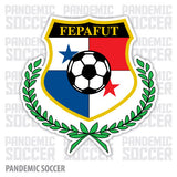 Seleccion Panama Futbol Canaleros Vinyl Sticker Decal