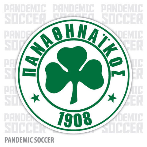 Panathinaikos FC Athens Greece Vinyl Sticker Decal - Pandemic Soccer