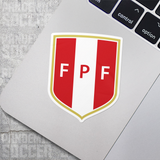 Seleccion Peru Futbol Soccer Vinyl Sticker Decal - Pandemic Soccer