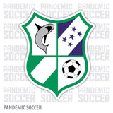 Platense FC Honduras Vinyl Sticker Decal Calcomania - Pandemic Soccer