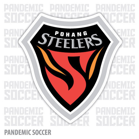 Pohang Steelers South Korea Vinyl Sticker Decal Soccer - Pandemic Soccer