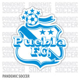 Puebla FC Mexico Liga MX Camoteros Vinyl Sticker Decal Calcomania - Pandemic Soccer