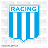 Racing Avellaneda Argentina Vinyl Sticker Decal Calcomania - Pandemic Soccer