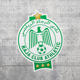 Raja Casablanca Morocco Vinyl Sticker Decal - Pandemic Soccer
